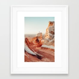 Lollipop Rock Framed Art Print