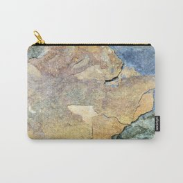 Abstract Stone Carry-All Pouch