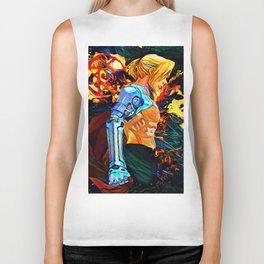 colorful Metal Arm Biker Tank