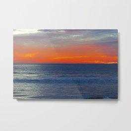 Blazing Horizon Metal Print