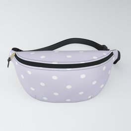 Purple and white dots pattern Fanny Pack