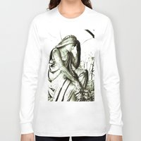 sister Long Sleeve T-shirts featuring stone sister by marie grady palcic
