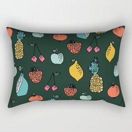 Tutti Fruit Pattern by Andrea Lauren Rectangular Pillow