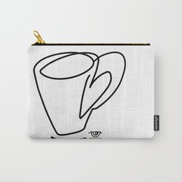 Cuppa Candor [Ivory] Carry-All Pouch