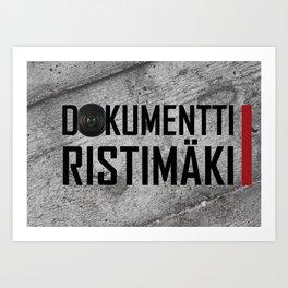 Dokumentti Ristimäki Art Print