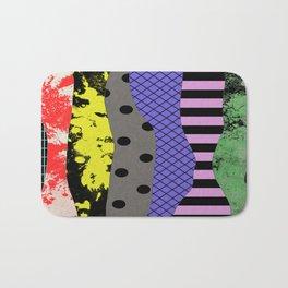 Pick A Pattern - Abstract, Textured, Stripes, Polka Dot, Grid, Paint Splatter Bath Mat