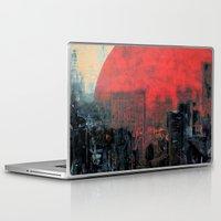 sunshine Laptop & iPad Skins featuring Last Sunshine by Fernando Vieira