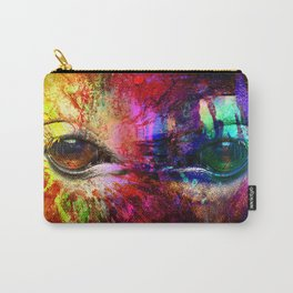 Eyes mystical humanoid looking Carry-All Pouch