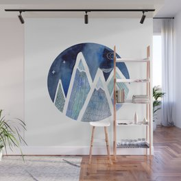 Sleeping on top of the world Wall Mural