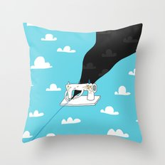 Sew a better world Throw Pillow