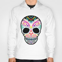 mexican Hoodies featuring Mexican Skull by Blank & Vøid