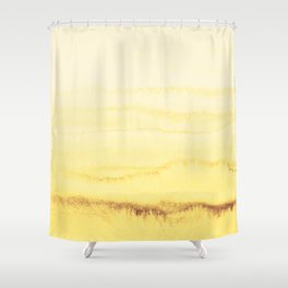 WITHIN THE TIDES - SUNNY YELLOW Shower Curtain