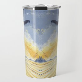 Salute The Sun Travel Mug