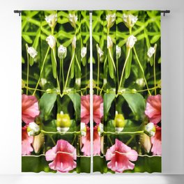 Flowers and Baby's Breath Too Blackout Curtain