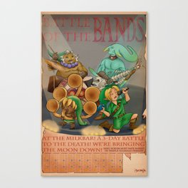 Battle of the Bands Canvas Print