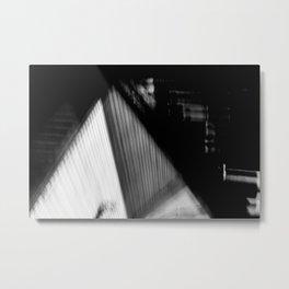Abandoned Stairway Metal Print