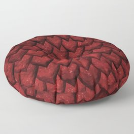 Red Dragon Floor Pillow