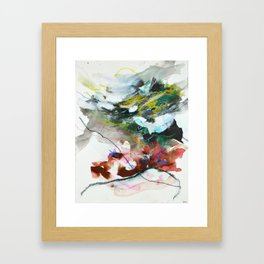 Day 84: In most cases reflecting on things in a cosmic context reveals triviality. Framed Art Print