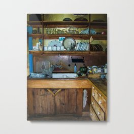 Quaint Country Kitchen  Metal Print