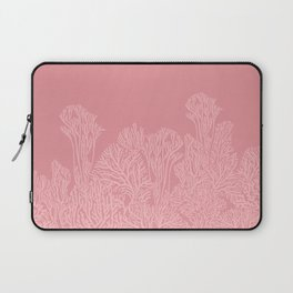 Dusty Pink Coral Garden Laptop Sleeve