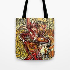 Thoughts....!night Tote Bag