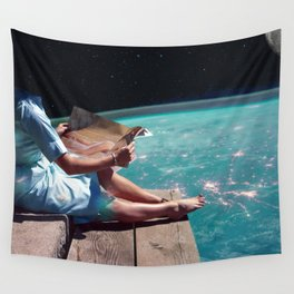 God...she's pretty. Wall Tapestry