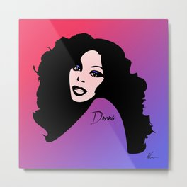 Donna Summer - Last Dance - Pop Art Metal Print