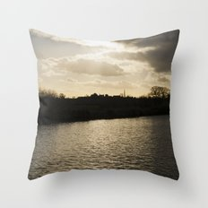 village... Throw Pillow