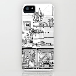 The Modern Witch's Studio iPhone Case