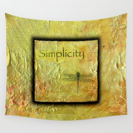 Simplicity 1A by Kathy Morton Stanion Wall Tapestry