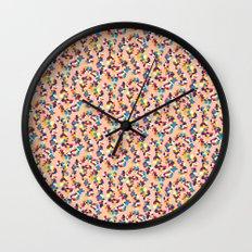 BP 68 Abstract Pebbles Wall Clock
