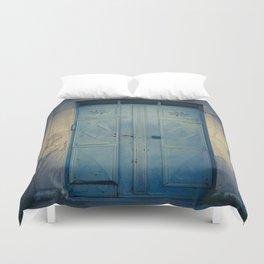 Blue Door II Duvet Cover