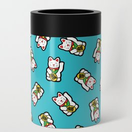 Lucky Cat Pattern Can Cooler