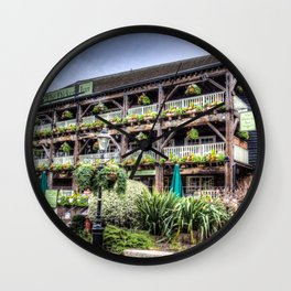 the Dicken's Inn Pub London Wall Clock