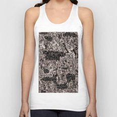 The Wonderful Plague Unisex Tank Top