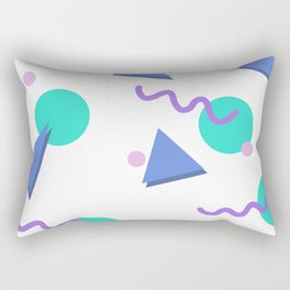 Lisa 90s Graphic Rectangular Pillow