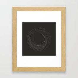 toroid.i Framed Art Print
