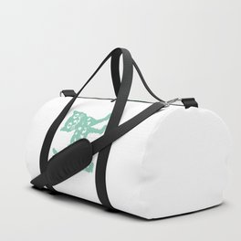 Mint cat drawing, cat drawing Duffle Bag