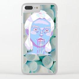 Sugar Vomit Clear iPhone Case