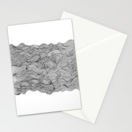 get lost in the wave Stationery Cards