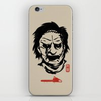 butcher billy iPhone & iPod Skins featuring Butcher by pigboom el crapo
