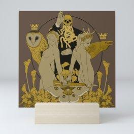 Serpentes Emesis (Rotten Yellow) Mini Art Print
