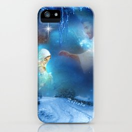 Holy Night - Christmas Art By Giada Rossi iPhone Case
