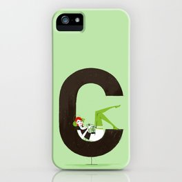 Carla & Din iPhone Case