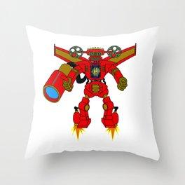 Cinémech Throw Pillow