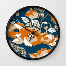 Rosetta In Mango Wall Clock