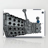 dalek iPad Cases featuring Dalek by Rebecca Bear