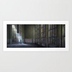 Oskar Schindler Factory 1940 (oil on canvas) Art Print