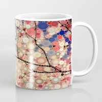 positive Mugs featuring Positive Energy by Olivia Joy StClaire