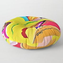 Bulldog Close-up Floor Pillow